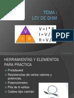 Clase 5 -Ley de Ohm