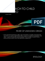 Approach to Child With Fuo