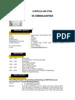 Io Simanjuntak - CV