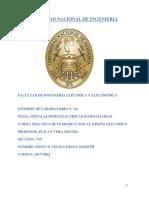 1 Informe de Diseño Electrico