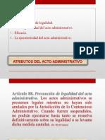 Atributo Del Acto Administrativo
