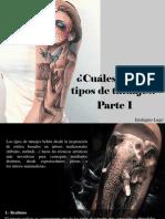 Eustiquio Lugo - ¿Cuáles Son Los Tipos deTatuajes?, Parte I