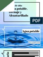 Agua Potable, Drenaje y Alcantarillado