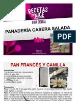 Guia de Panadería Casera Salada Variedades Nice