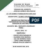 PRÁCTICA NO.2 OBTENCIÓN DEL N-BUTANOL