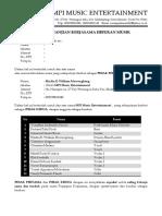 Kontrak Kerja MPI (Band and Strings)