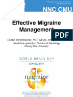 New Era in Migraine Management_2019_HatYai
