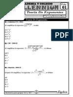 1.1-Teoria de Exponentes