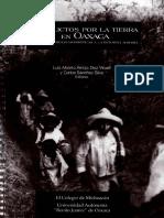 Conflictos Por La Tierra en Oaxaca