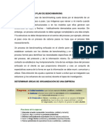 Estructura de Plan Benchmarking
