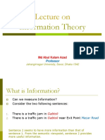 Lecture-1 Information Theory