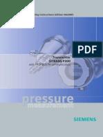 Siemens pressure trensmitter