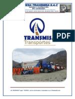 Brochure Empresa Transmisa s.a.c