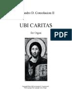 Ubi Caritasghgh