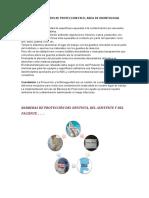Uso de Elmentos de Proteccion en El Area de Odontologia