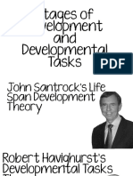 Day 2 Stages of Development and Developmental Tasks