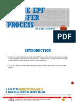 Online EPF Transfer Process