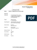 Project Progress Report_17OCT2018