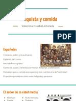Unidad 2 Conquista y Comida - Valentina Ossabal Arboleda