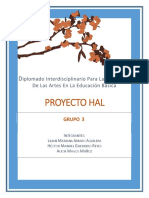 Proyecto interdisciplinario de arte