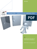 Formación y Orientación Laboral (Fol)