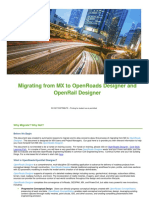 Migrating From MX to OpenRoads Designer