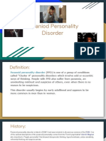 Paraniod Personality Disorder