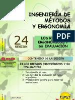 Sesión 24 LOS RIESGOS ERGONÓMICOS Y SU EVALUACIÓN.pptx