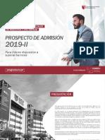 Prospecto Semipresencial 2019 II