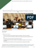 Reforma Da Previdência Avança Mais Uma Etapa No Congresso; Veja o Que Falta - 07-09-2019 - UOL Economia