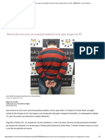 Menina de Cinco Anos Com Paralisia Cerebral Morre Após Estupro No RS - 08-09-2019 - UOL Universa