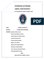 Agenda Patriotica Informe Final