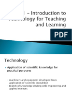 Unit 1 – Introduction to Technology for Teaching