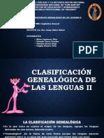 Clasificación Genealógica de Las Lenguas II