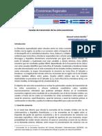 Canales de Transmision de Ciclo Economico en Centroamerica Julio 2008