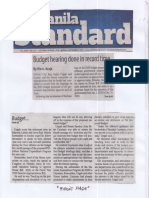 Manila Standard, Sept. 9, 2019, Budget hearing done in record time.pdf