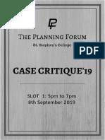 Case Critique 19 -Slot 1 Prelims