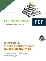 Flexible Budgets and Overhead Analysis