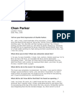 Chan Parker Interview