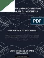 tata urutan peraturan undang-undang perpajakan di Indonesia