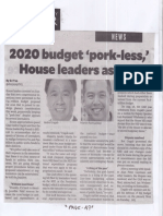 Philippine Daily Inquirer, Sept. 9, 2019, 2020 budget pork-less House leaders assure.pdf