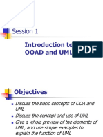 Intro to OOA&D