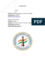 Abstract on Performance of Contractual Obligation Laws and PracticeNLSIU