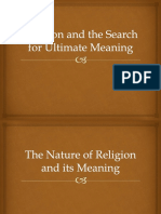 Religion and the Search for Ultimate Meaning.pptx