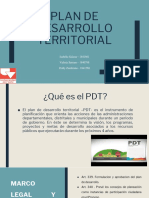 Plan de Desarrollo Territorial (PDT ,PDET)