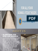 Dog Run & Dog Kennel Specialists | Slaneyside Kennels