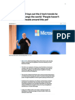 Microsoft CTO views