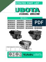 Part List Kubota RD 85 - 150