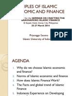 Islamic economic and finance basic Ateneo de Davao Uni