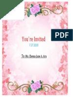 Invitation Cove